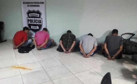 Polícia Civil deflagra operação contra quadrilha de Cascavel que agia em bancos