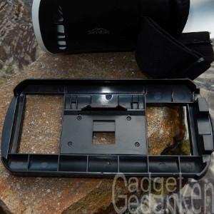 SimbR VR-Brille: Smartphonehalter