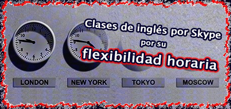 Clases de inglés online desde casa con horario flexible.