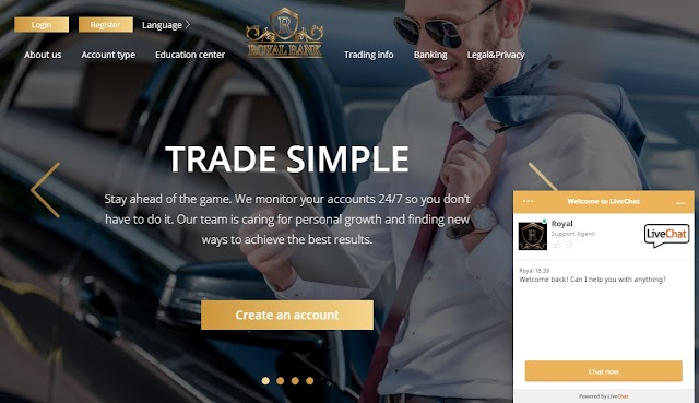 RoyalCBank Broker - Trading a Variety of Assets With RoyalCBank