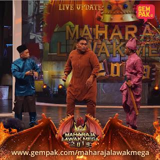 Senarai Peserta Maharaja Lawak Mega 2019