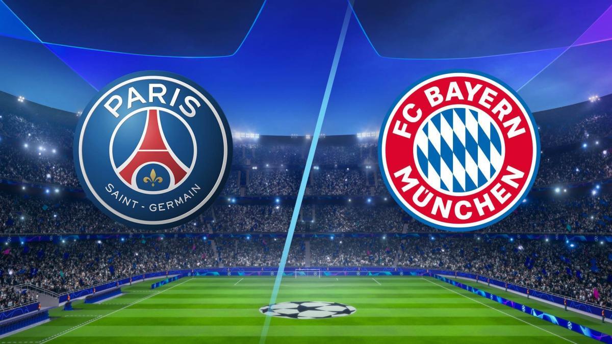 موعد مباراة بايرن ميونخ ضد باريس سان جيرمان في قمة دوري أبطال أوروبا والقنوات الناقلة