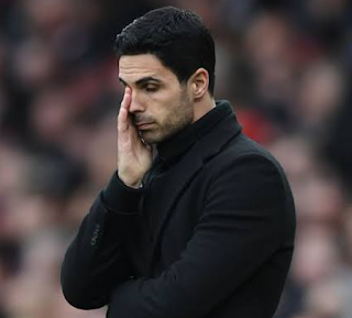 Arsenal's Coach Mikel Arteta Says He is Frustrated
