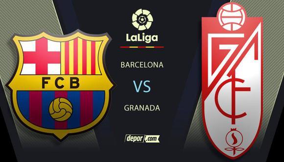 Barcelona vs. Granada EN VIVO: horarios y transmisión por la fecha 5 de LaLiga Santander