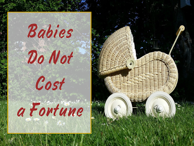 Babies Do Not Cost a Fortune -- Everybody thinks babies are expensive, and even the USDA says it costs $245,000 to raise a child to age 18. But here's why that stinks worse than a dirty diaper.  {posted @ Unremarkable Files}