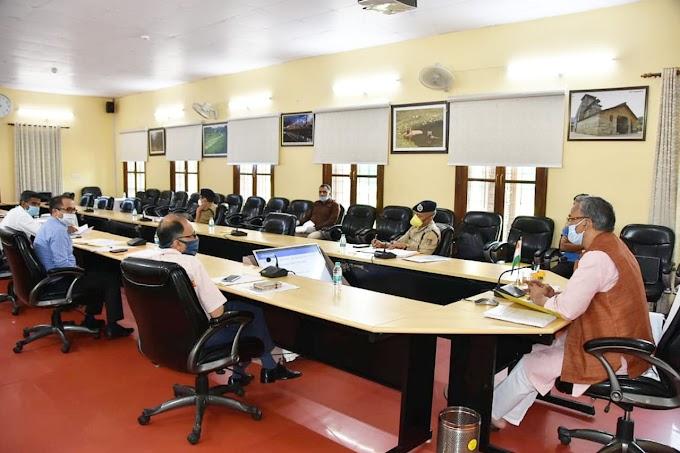 आपदा प्रबंधन के लिए चलाई जायेगी हफ्ते में स्पेशल क्लास ग्रामीणों को भी दिया जाएगा प्रशिक्षण-देखिए पूरी खबर