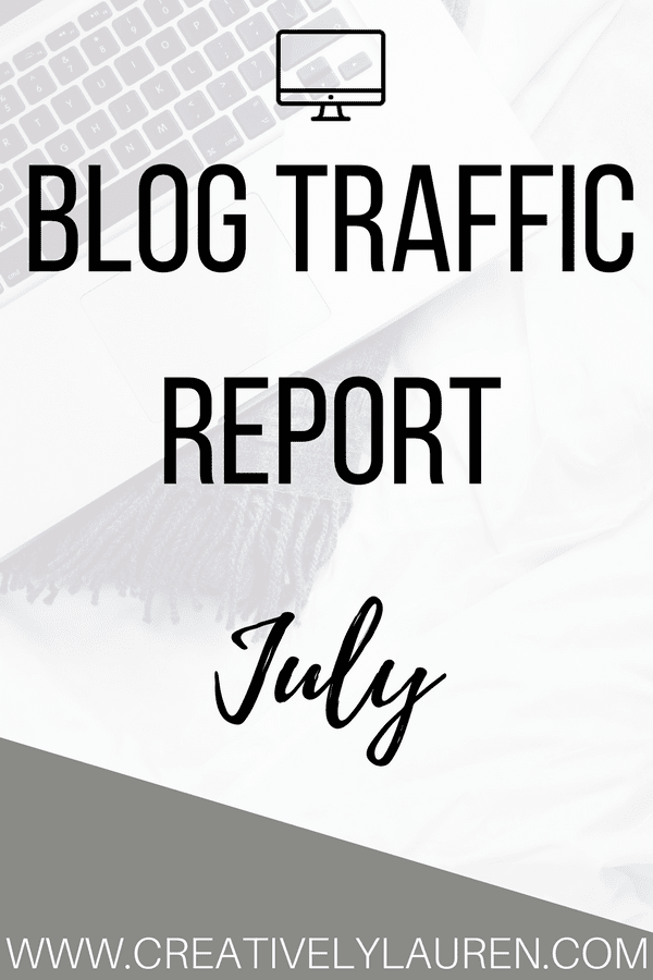 July 2017 Blog Traffic Report