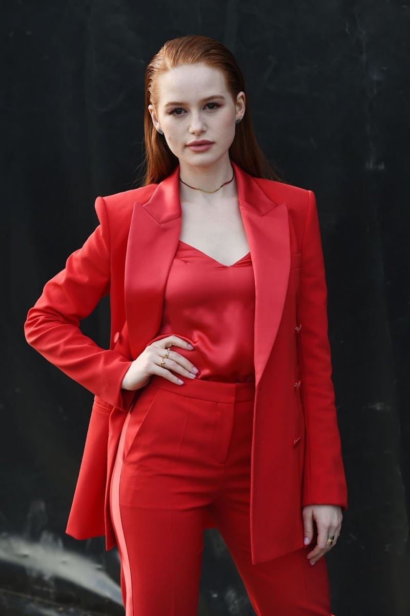 Madelaine Petsch Clciks at Boss Fashion Show at MFW in Milan 23 Feb-2020