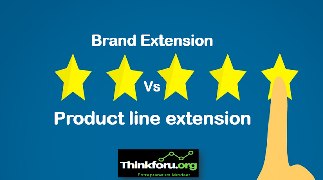 Cover Image of Difference Between [ Brand Extension Vs Product line extension ] I Product Line and Brand Extension