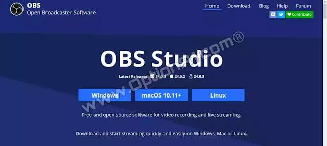 تحميل برنامج OBS Studio لتصوير الشاشة وعمل البث المباشر