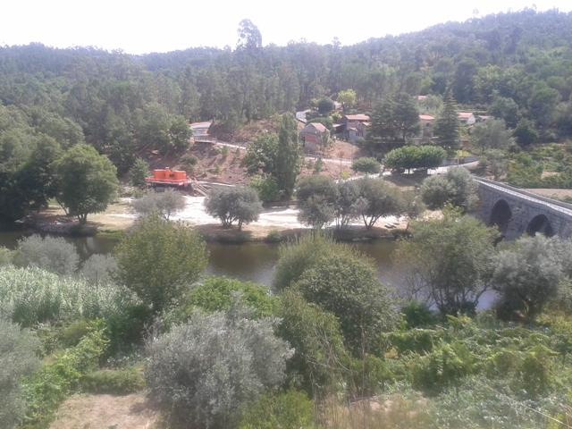Vista Fluvial de Ferreirós do Dão