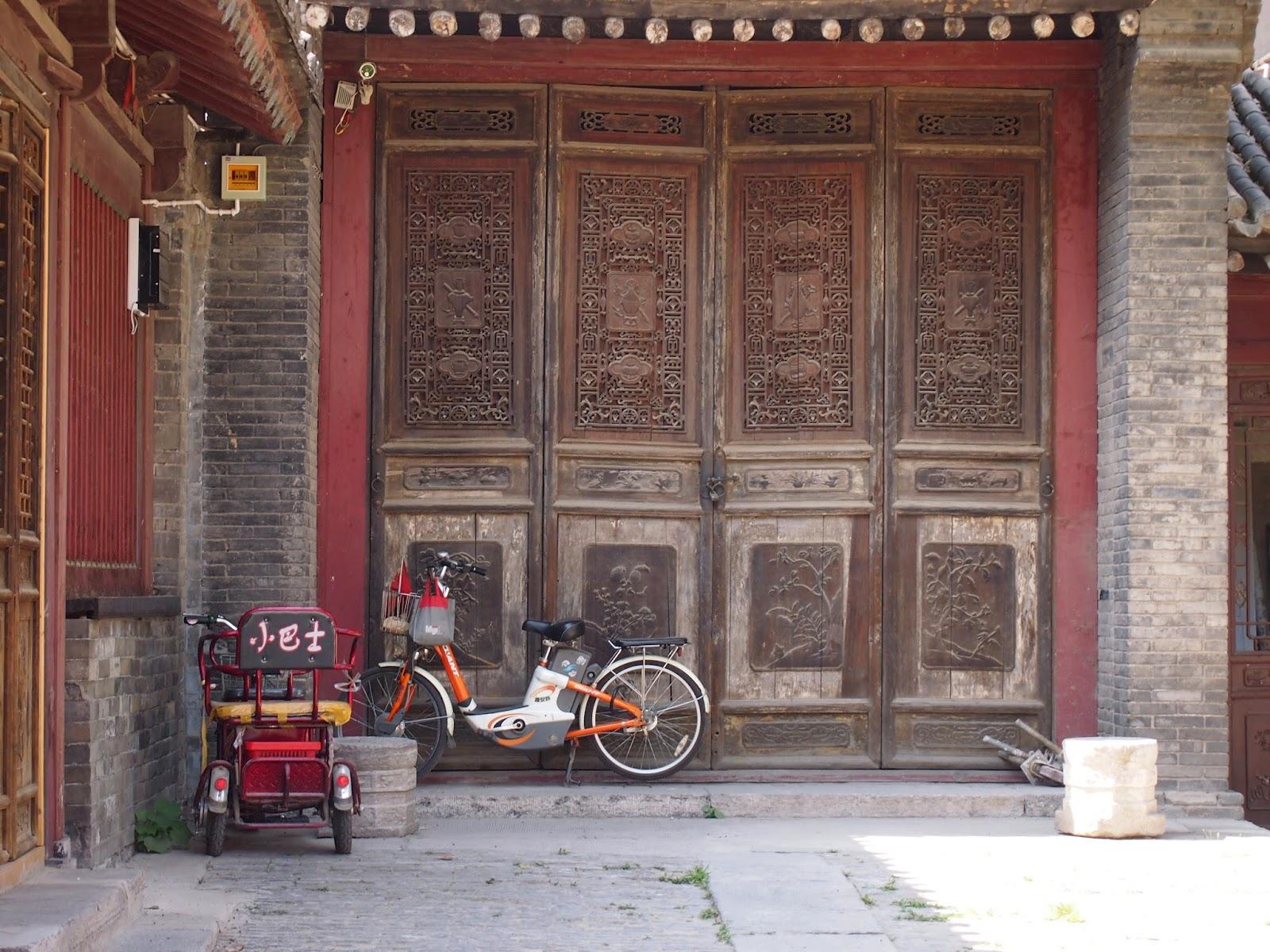 detailed doors in XI'an