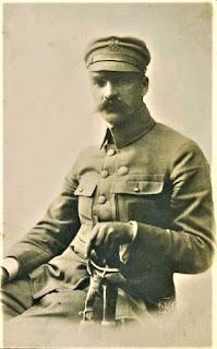 Józef Piłsudski - fot. Józef Kuczyński ok 1914