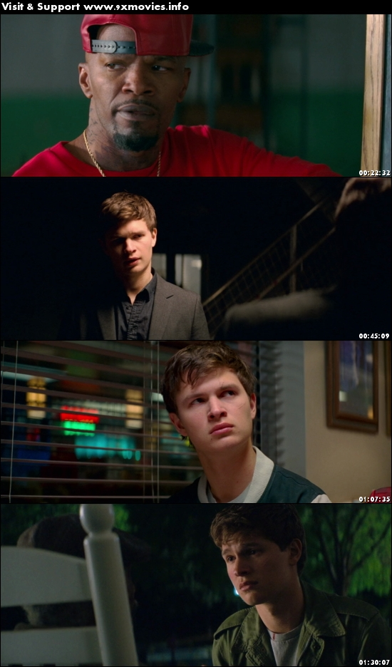 Baby Driver 2017 English 480p BRRip 300MB ESubs