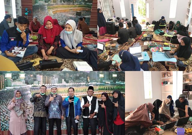 Kolaborasi Dosen Mahasiswa pada Pembinaan Perpustakaan di Nagari Sungayang