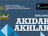 Download [Unduh] Buku Akidah Akhlak MTs Terbaru KMA 183
