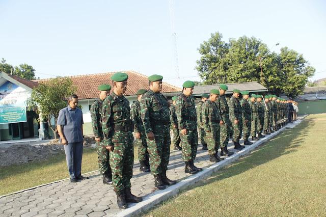Awali Minggu Militer Bulan Juni, Kodim Surakarta Gelar Upacara Bendera