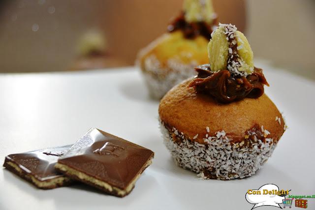 קאפקייקס רית חלב Dulde de leche cupcakes