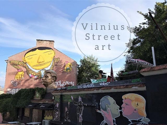 vilnius: la street art