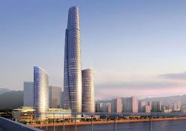 International Commerce Centre, Cina