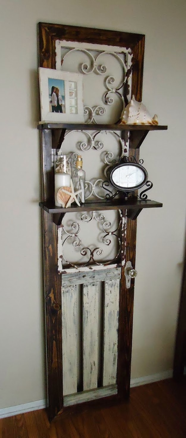 Vintage Wrought and Wood Accent Piece - SOLD