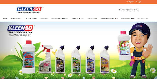 KLEENSO The Online Store For Buying Household Cleaning Products Online