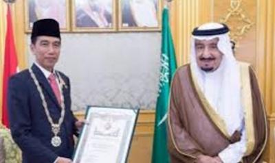 Raja Salman dan Presiden Jokowi