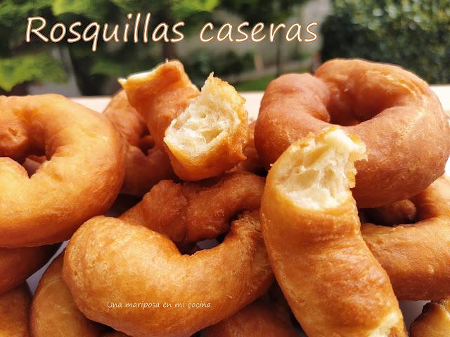 Rosquillas Caseras Fritas