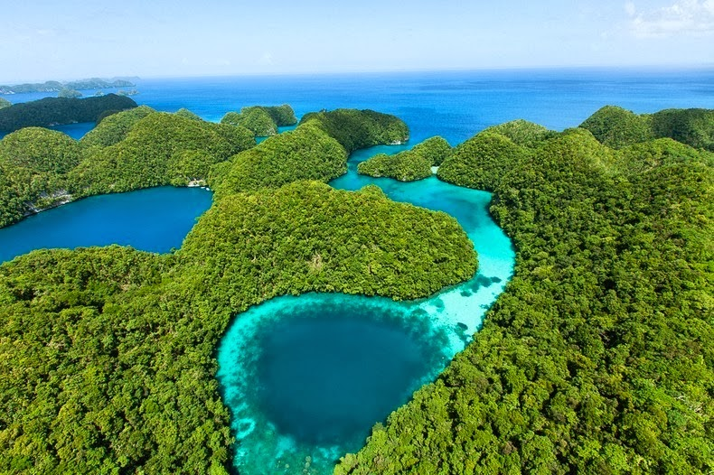 The Rock Islands of Palau