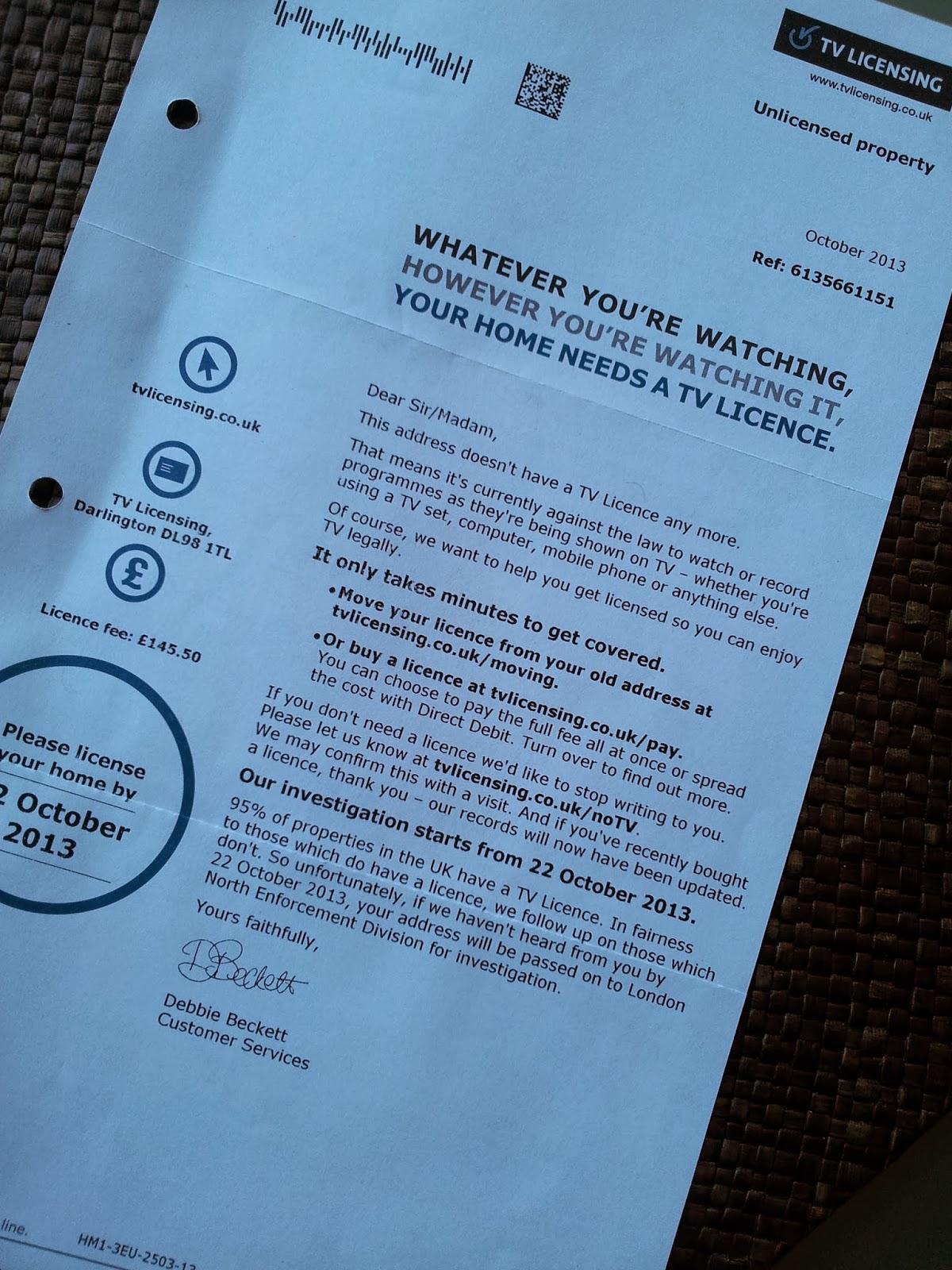 Pagar Contas - TV License