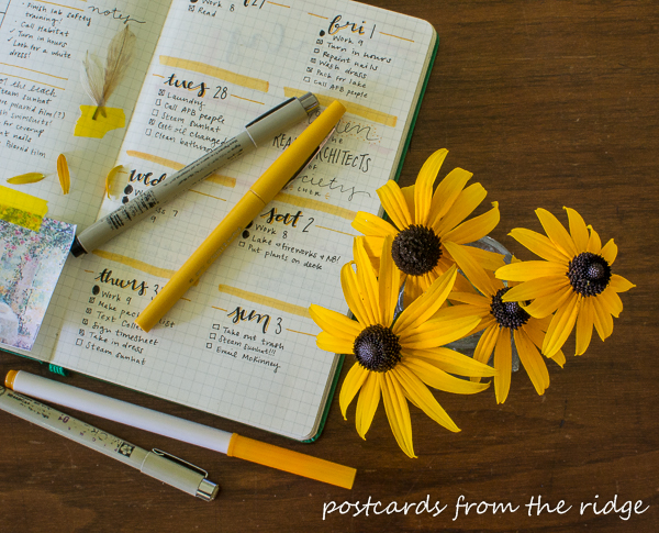I love all these tips for starting a bullet journal.