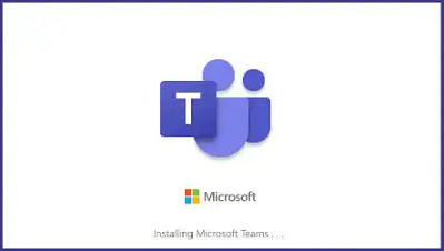 انتظار تثبيت برنامج مايكروسوفت تيم