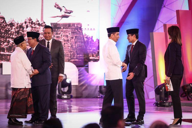 Jokowi-Maruf Unggul Sementara Versi Quick Count di 5 Lembaga  Survey