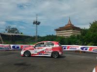 Peslalom Toyota Team Indonesia Sapu Bersih Kelas 1000 cc Dan 1200 cc