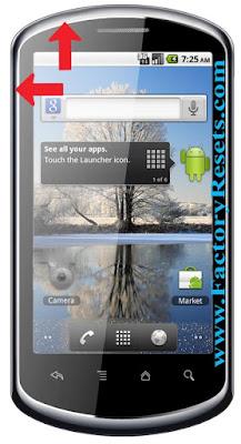 master-reset-Huawei-U8800-Pro