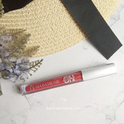 Review lip cream Madame Gie