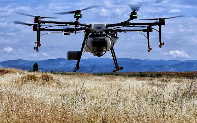 Με drone κατά των κουνουπιών στην Περιφέρεια Πελοποννήσου