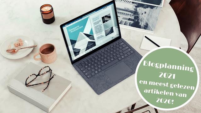 Blogplanning en meest gelezen artikelen