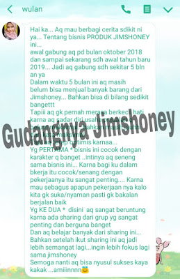 Pengalaman sukses jimshoney