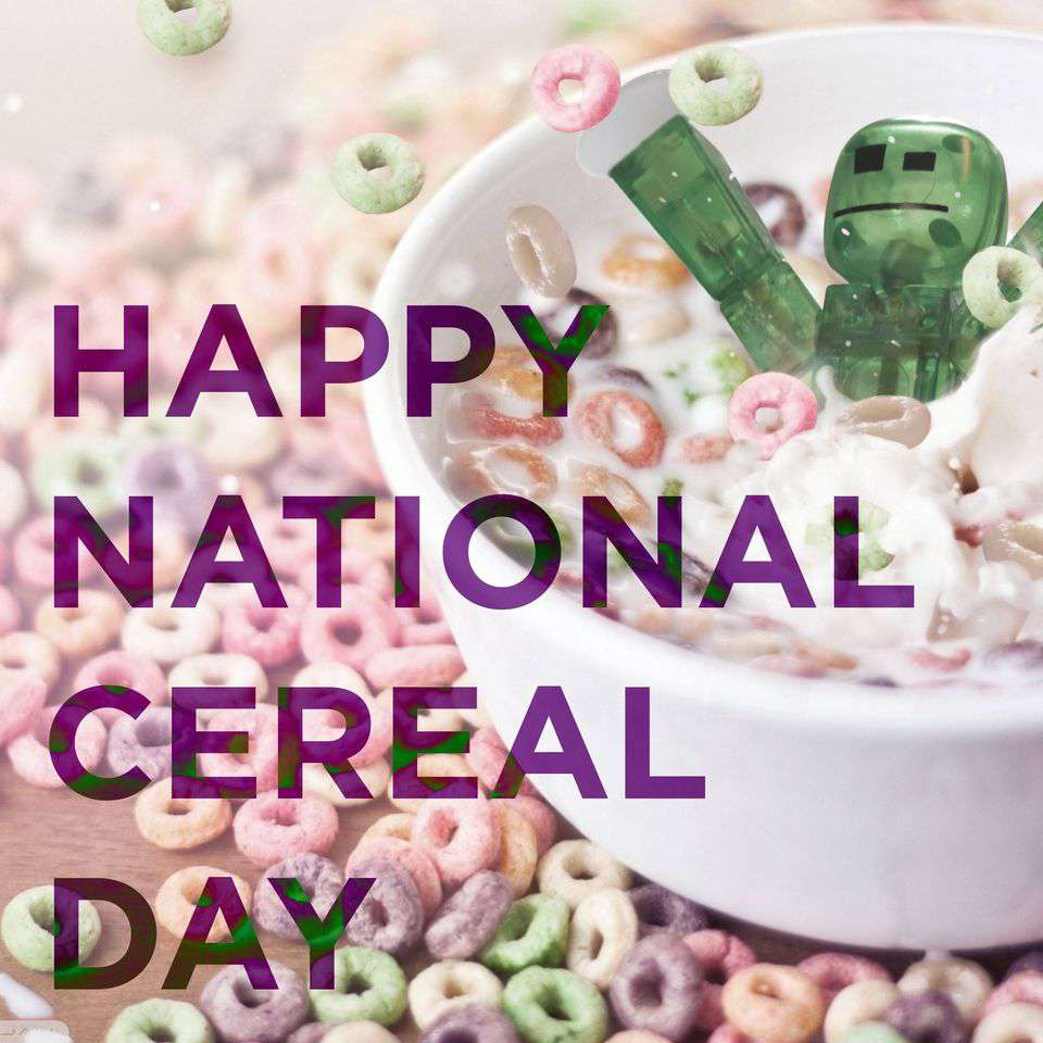 National Cereal Day Wishes For Facebook