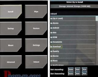 Custom Rom CyanogenMod 12.1 Andromax A A16C3H Fix Anti Bootloop