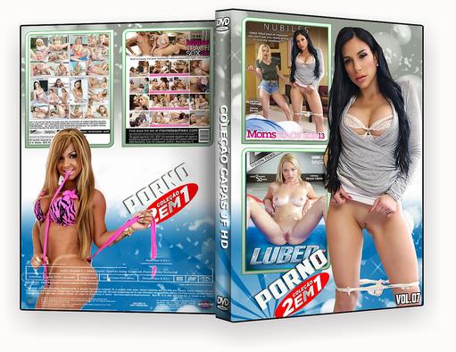 CAPA DVD – COLEÇÃO PORNO DVD-R VOL 07 2018 DVD-R