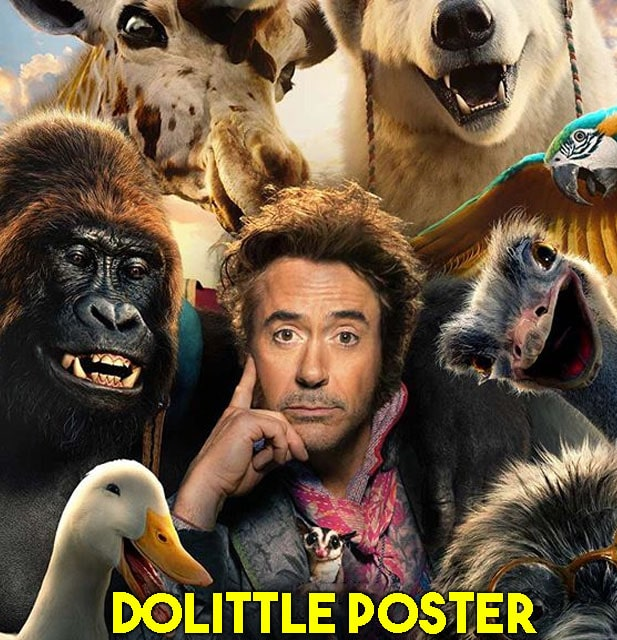 Dolittle 2020 Movie Poster Download