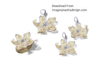Gold pendant designs for female