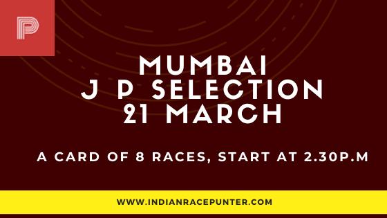 Mumbai Jackpot Selections 21 March