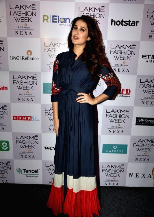Sagarika Ghatge At Lakme Fashion Week Summer Resort 2018