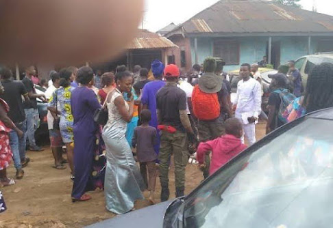 Drama As Sugar Mummy Hires Thugs To Scatter Her Younger Lover's Traditional Wedding In Lagos.