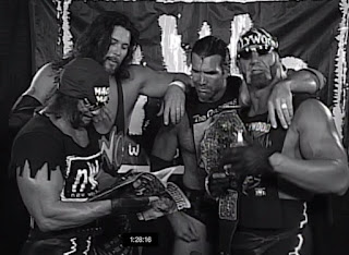 WCW Uncensored 1997 - The NWO cut a backstage promo