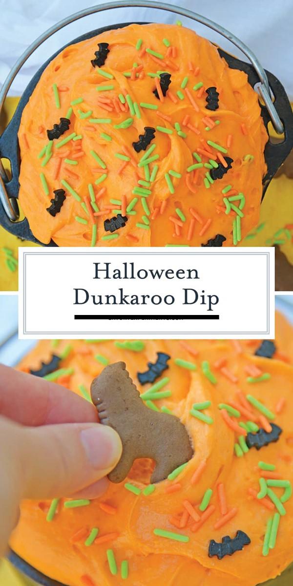 Halloween Dunkaroo Dip #halloweenrecipes