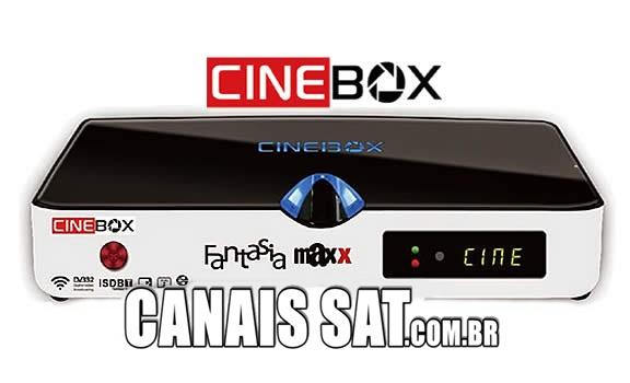 Cinebox Fantasia Maxx Dual Core Atualização - 31/05/2021